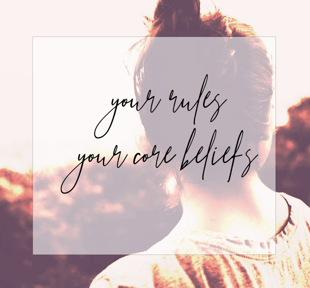 your rules  your core beliefs