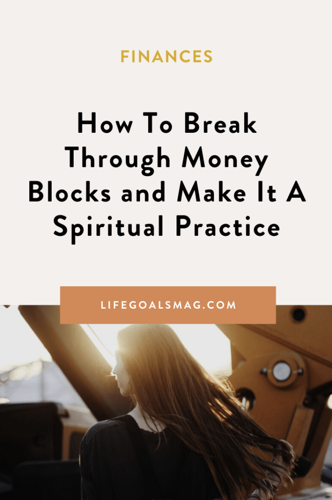 it's time money mindset was a spiritual practice