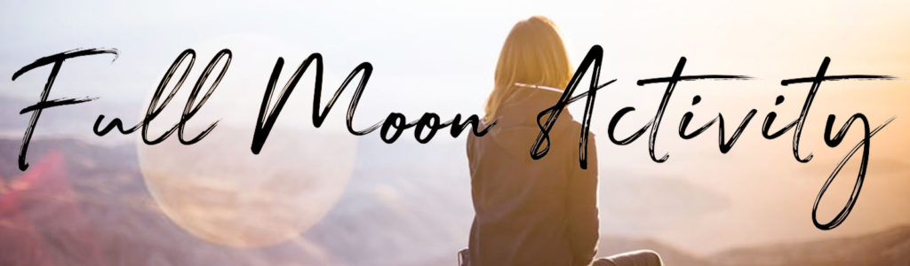 Full Moon Feb 2020 in Leo Activity by Lindsay Schroeder of Our & Are